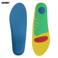 Gel Orthotic Orthopedic Foot Running Insoles Insert Shoes Pad Arch Support Cushion Men Women