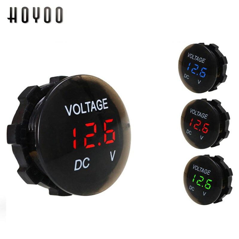 indicador de luz LED 1 PC amarillo DC 6 24 V pluma de prueba de voltaje Comprobador de voltaje de circuito el/éctrico de coche para motocicleta de cami/ón