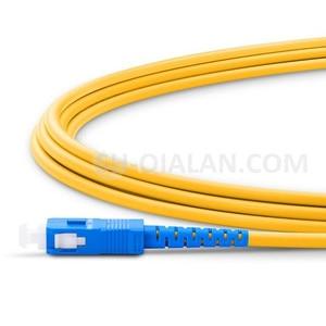 Image 3 - Cordon de raccordement optique LC UPC à SC UPC câble de raccordement G657A cordon optique Simplex 2.0mm PVC LC SC connecteur FTTH câble optique