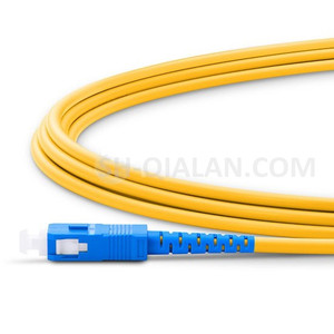 Image 3 - Fiber Optic Patchcord LC UPC to SC UPC Jumper Cable G657A Optical Cord Simplex 2.0mm PVC LC SC Connector FTTH Optic Cable