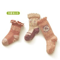 3PCS 2015 kids girls cartoon cotton Socks all for children clothing and accessories baby newborn Autumn and winter 1-3 years old