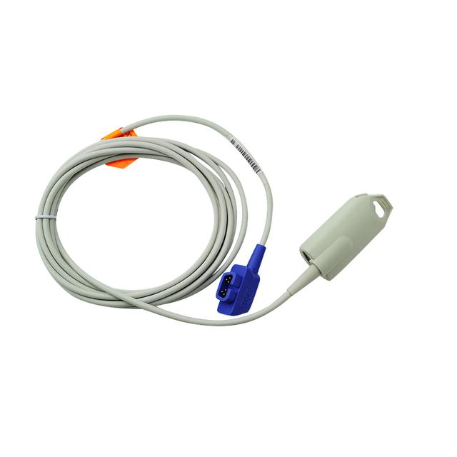 2016 New Arrival Adulto Compatível Sensor de Clipe de SpO2, 6 pinos, 3 m/pés, Criticare compatível/CSI 934-10DN Apto para Homens e Mulheres