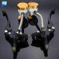 1 Pair 7 8 Inch 22mm Motorcycle Handlebar Hydraulic Brake Master Cylinder Clutch Lever