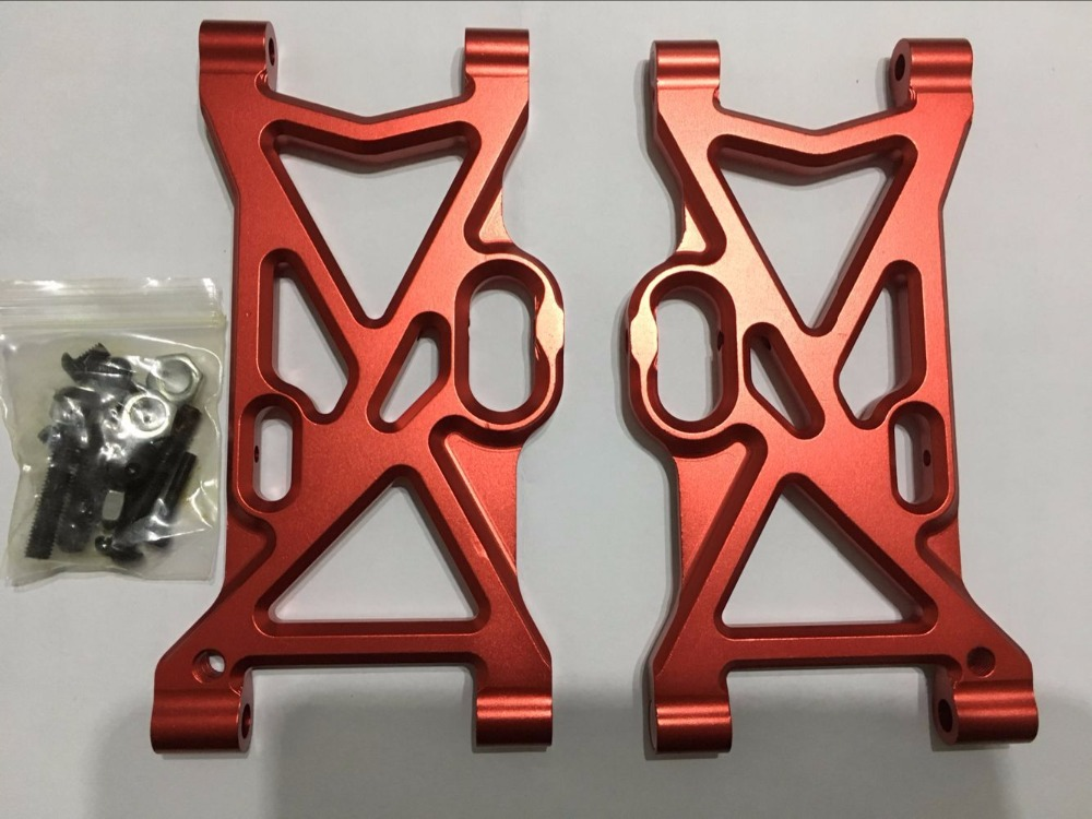 Area rc Alloy CNC suspension arms for lOSI DBXL losi desert buggy XL DBXL e red