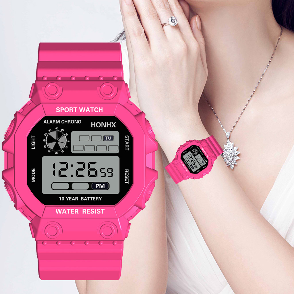 reloj mujer Luxury relogio digital watch Analog Digital Outdoor Watch Military Sport LED Waterproof sport Watch montre homme