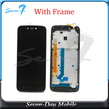 LCD  For Motorola Moto C Plus CPlus XT1721 XT1722 XT1723 XT1724 LCD Display With Touch Screen Digitizer Panel Assembly аккумулятор для телефона ibatt hc60 для motorola moto c plus xt1723 moto c plus dual sim