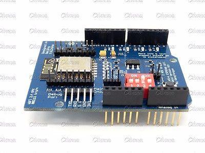 SP8266 Серийный WiFi Щит Расширить Модуль Совета С ESP-12E CC3000