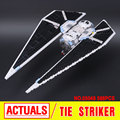 New 543Pcs Lepin 05048 Star War Seiers The TIE Striker Building Blocks Bricks  Toys Compatible with 75154