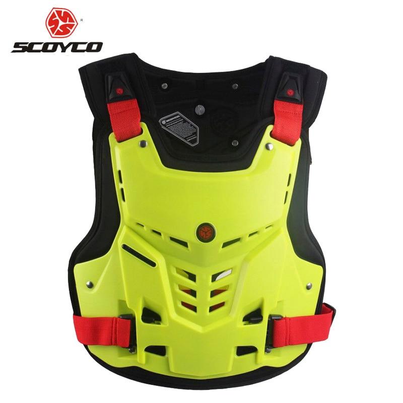 Scoyco AM05 Motocross protection poitrine et dos gilet armure course protection corps-garde armure livraison gratuite