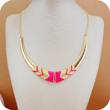 Wholesale fashion accessories vintage short design female collar necklace statement necklace choker necklaces for women(China)