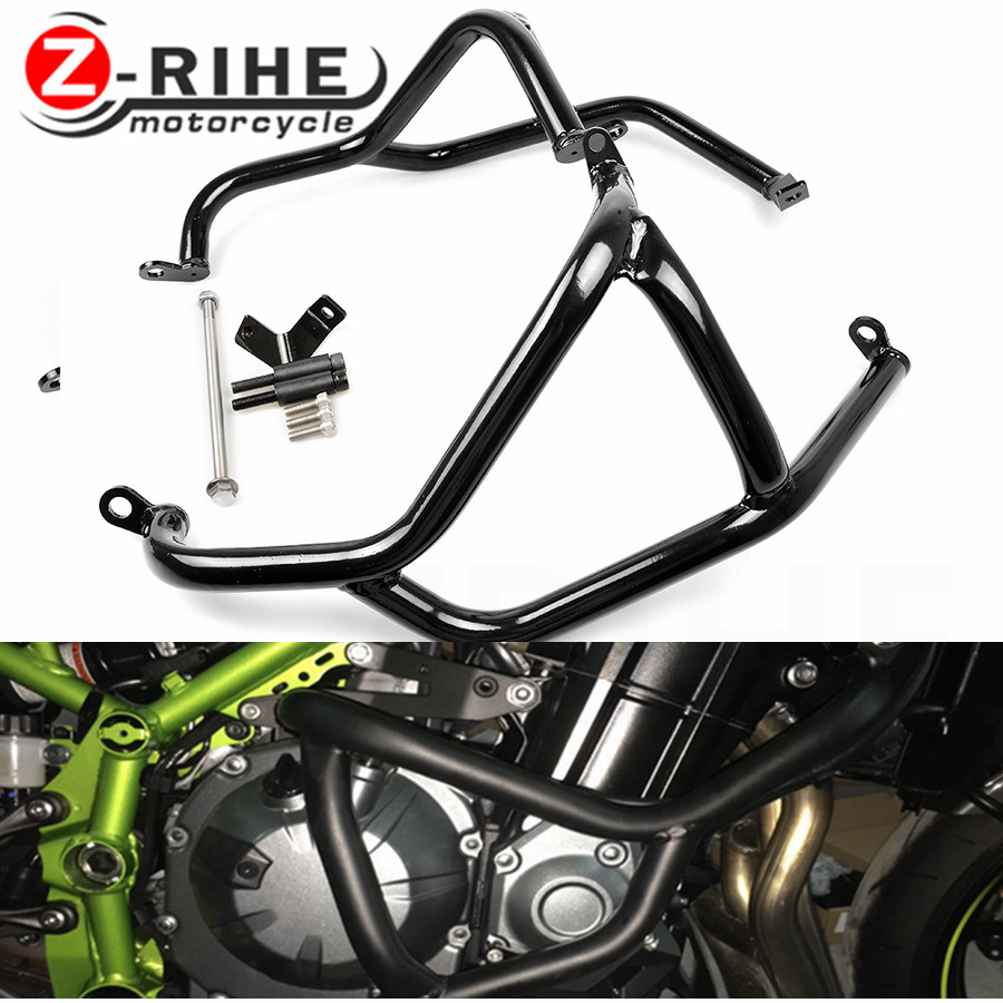 For Z900 2017 Z 900 Crash Bar Motorcycle Accessories Z900 2017 Engine Guard Frame Protection Moto For Kawasaki Z900 2017 Aluminu motorcycle engine guard frame protection for kawasaki z900 2017 z 900 crash bar for kawasaki z900 2017 motor