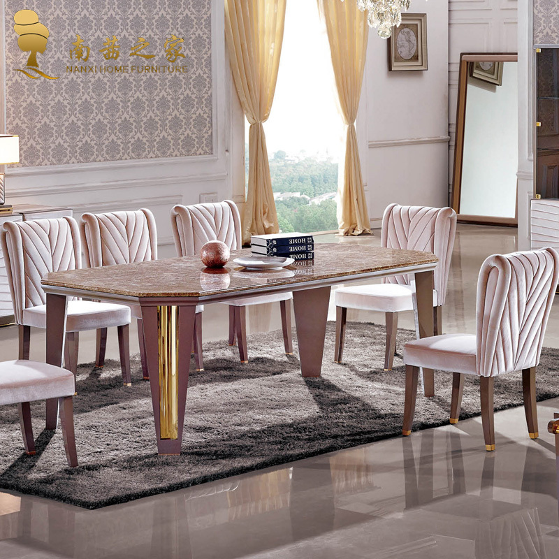 High Quality Dining Furniture: Italian Design High Quality Home Furniture Nature Marble