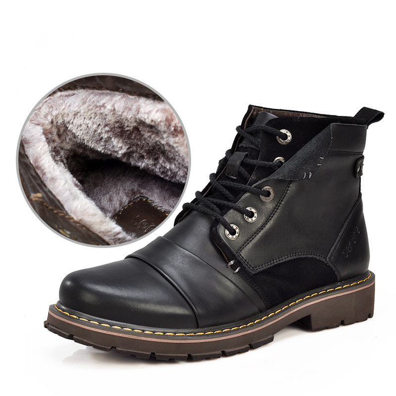 Warm Motorcycle Boots