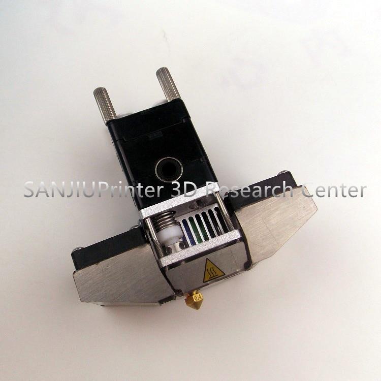ФОТО 3D Printer Dual Fan Bracket Ultimaker 2+ UM2 Extended Hot End Parts Olsson Block Nozzle Header Head for 3.00mm Filament