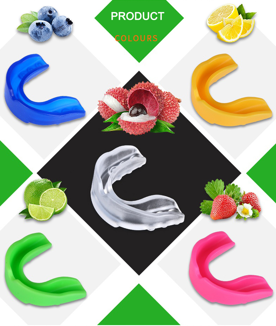 WorthWhile Sports Mouth Guard Made with EVA Material for Teeth Protection of Kids/Adults 8