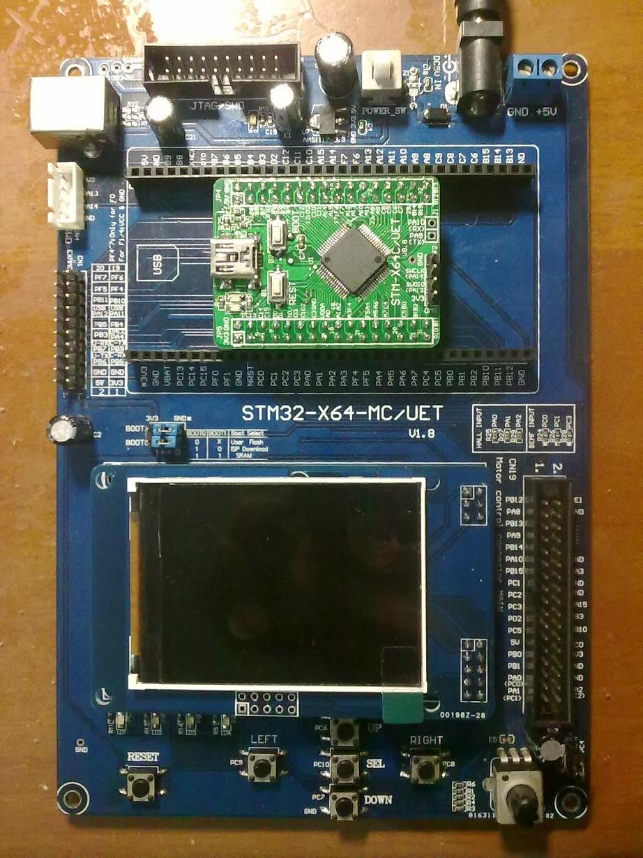 STM32F103RBT6Development board learning board assessment board SPI interface 2.4 TFT color screen routines купить
