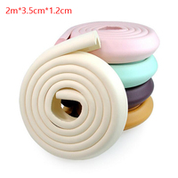 2pcs Baby Safety Soft Corner Protector Desk Table Edge Corner Guards Protective Strip For Kids Security