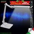 Bl1207 10 w led lâmpadas de mesa de escritório mesa estudante lâmpada de leitura lâmpadas moda luzes free ângulo de rotação diferente temperatura de cor