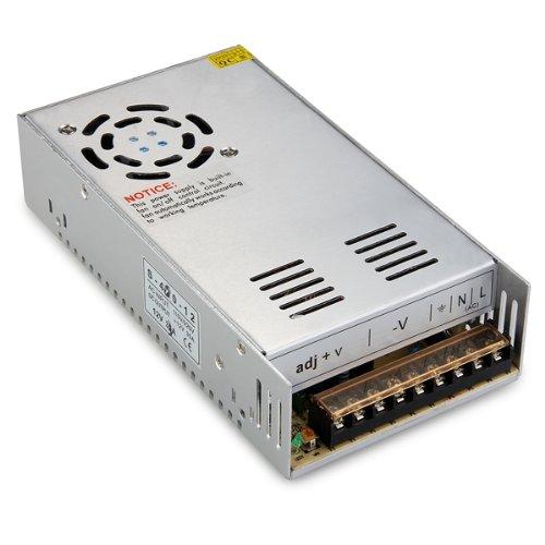 Promotion! 400W Switch Power Supply Driver for LED Strip Light DC 12V 33A ac 85v 265v to 20 38v 600ma power supply driver adapter for led light lamp