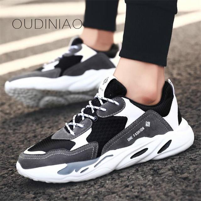 Men Shoes 2019 Kanye West Fashion Mesh Light Breathable Men Casual