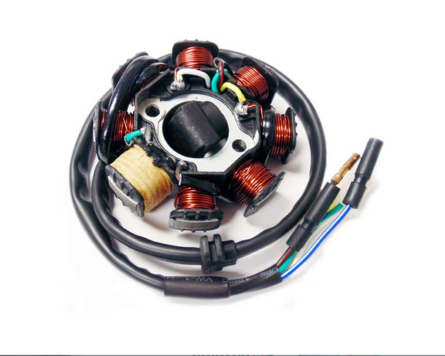 Magneto Stator Ignition Generator 8 Poles Coils GY6 Motorcycle Scooter Moped 125cc 150cc 8Z258