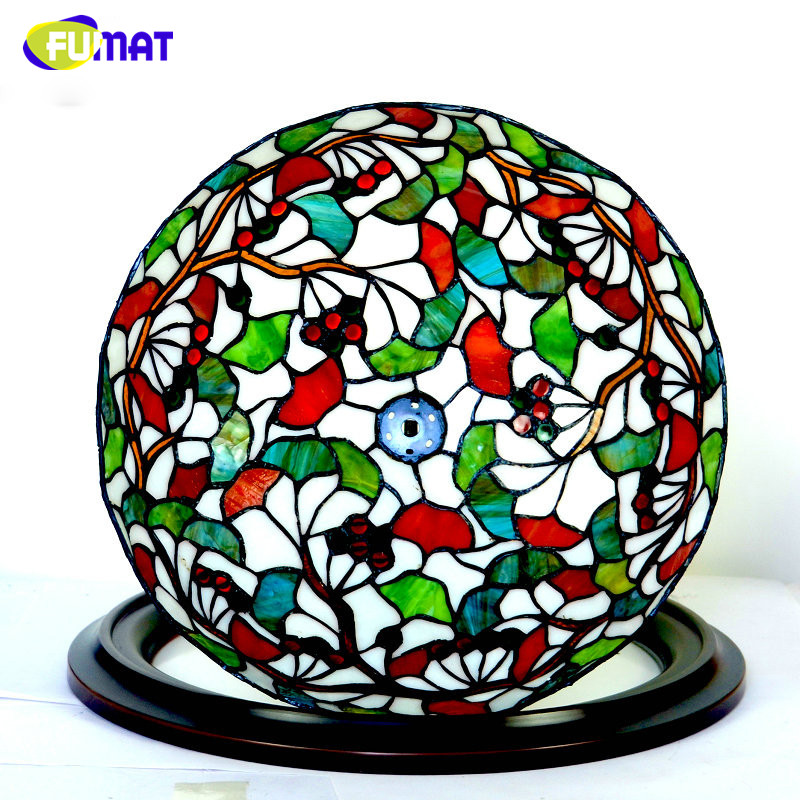FUMAT Art Glass Deckenleuchte LED Ginkgo leaf Deckenleuchte Für - Innenbeleuchtung
