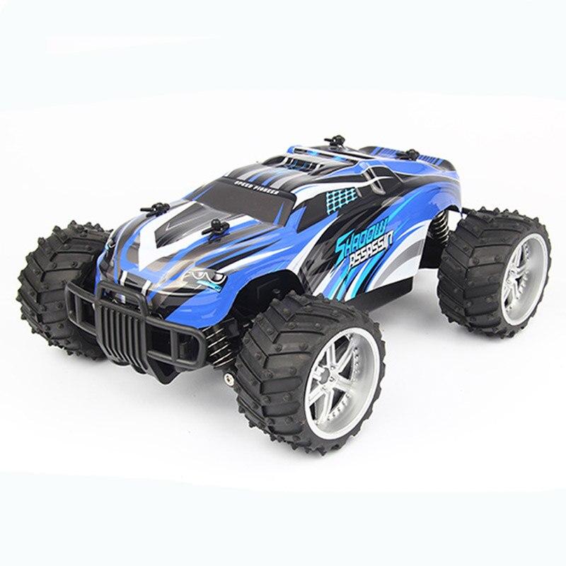RC voiture jouets pour enfants 1:16 voiture à distance 2.4 Ghz haute vitesse radiocommande hors route Double moteurs voitures enfants véhicule jouet cadeau RC06