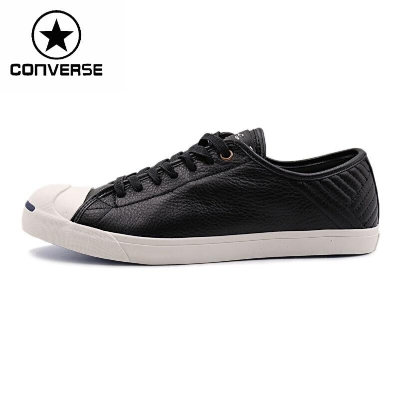 Prix pour Original Nouvelle Arrivée Converse Unisexe Planche À Roulettes Chaussures en cuir Sneakers