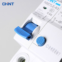 CHNT 1P N 40A Miniature Circuit Breaker Household Type C Air Switch Moulded Case Circuit Breaker