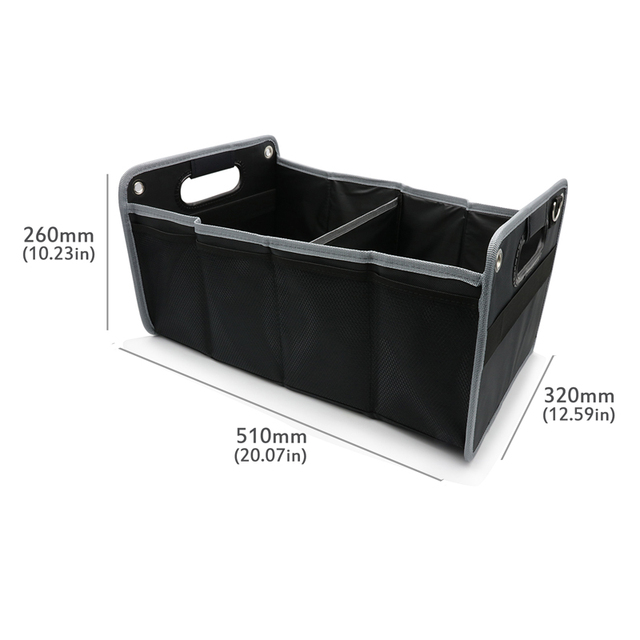 Car Trunk Organizer Toys Food Storage Container Bags Box Car Styling