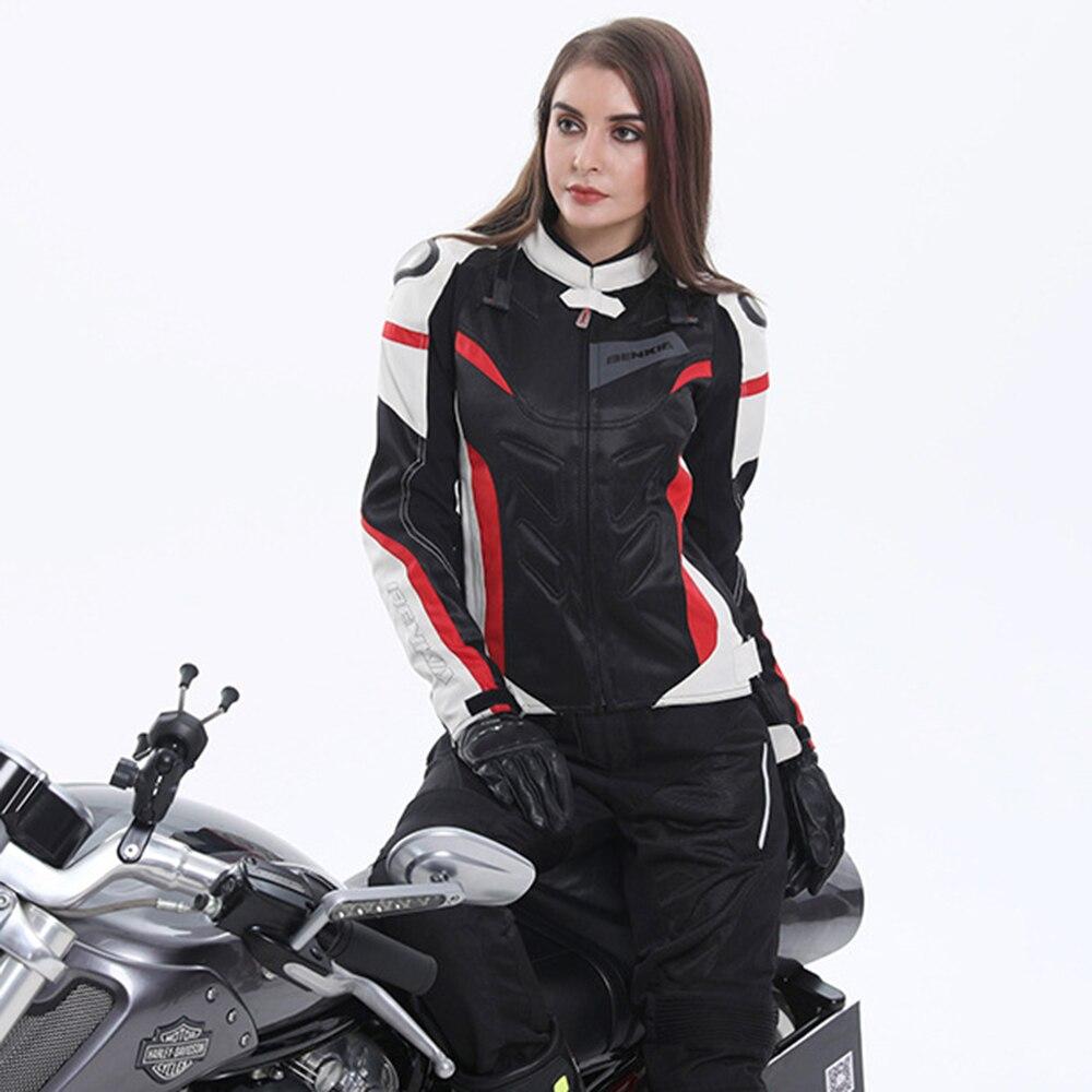 Ciclismo Mulheres Jaquetas de Motocicleta Motocross Jaqueta de Corrida Equipamentos de Proteção Jaqueta de Moto À Prova de Vento Respirável Para A Primavera Verão
