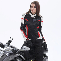 Cycling Motorcycle Jackets Women Motocross Jacket Protective Gear Racing Breathable Windproof Motorbike Jacket For Spring Summer