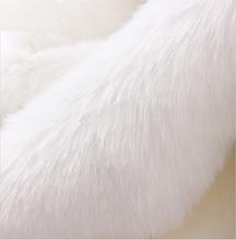 Dobrej jakości mały kawałek sztuczne futro (królik) stos 2cm tkanina sztuczne futro futro DIY buty kapelusze materiał 50*170cm tanie tanio SMTA Tkane CN (pochodzenie) Ekologiczne Other Inne tkaniny Barwione piece 0 3kg (0 66lb ) 25cm x 20cm x 20cm (9 84in x 7 87in x 7 87in)