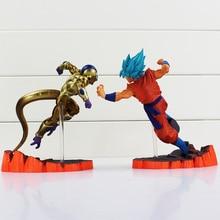Dragon Ball Z Super Saiyan Son Goku Golden Freeza Fighting