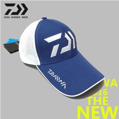 ФОТО New Dawa Daiwa Men Baseball Summer Cap Sunscreen Breathable Mesh Cap Sunbonnet Baseball Hats Adjsutable Size High Quality