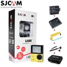 Оригинал SJCAM SJ4000 Wifi 2 Дюймов Большой Экран Спорт Действий Камеры + Дополнительный Аккумулятор + Зарядное Устройство + Selfie Придерживайтесь + Сумка для хранения + Ручной Штатив