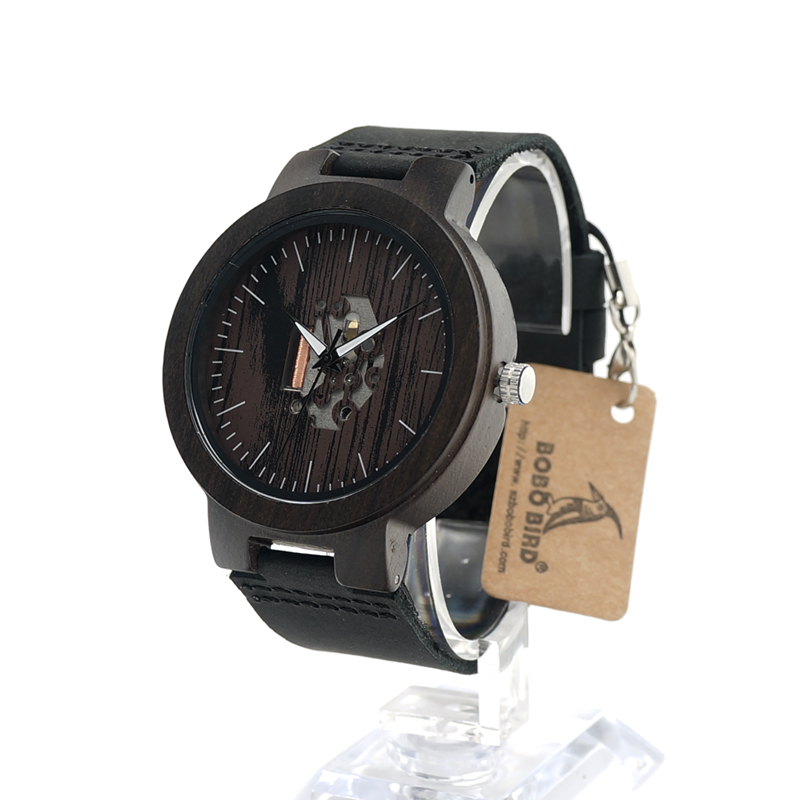 Wood Mens Watch Quartz Watches
