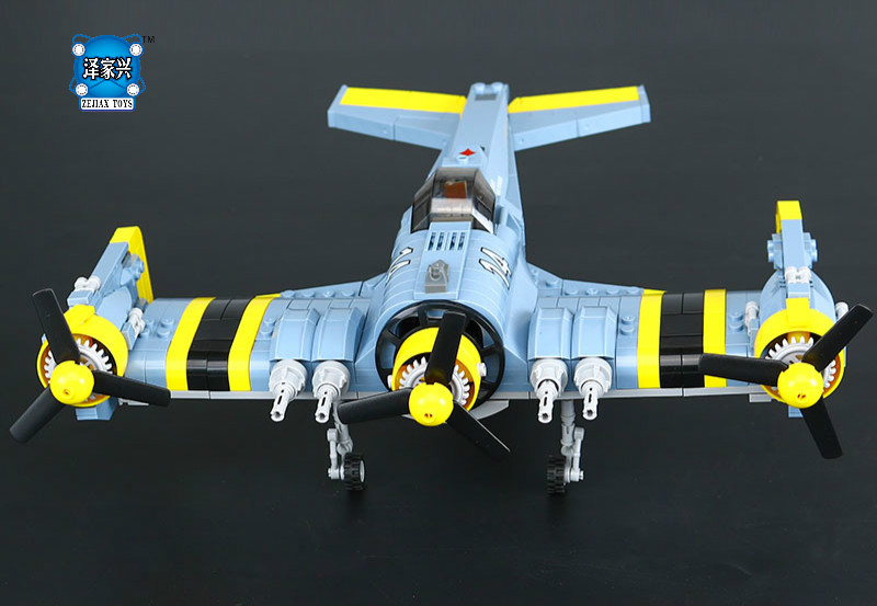 Lepins Technical Series The Beautiful Science Fiction Fighting Aircraft Set Building Blocks Bricks Educational Figures Toys Gift hot city series aviation private aircraft lepins building block crew passenger figures airplane cars bricks toys for kids gifts