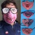 Женщины Мужчины Хэллоуин Латекс Страшно Маска Клоуна Радость Смешно Косплей Костюм Аксессуары Ужас Жуткий Вампир Торчащий Зуб Латексных Масок