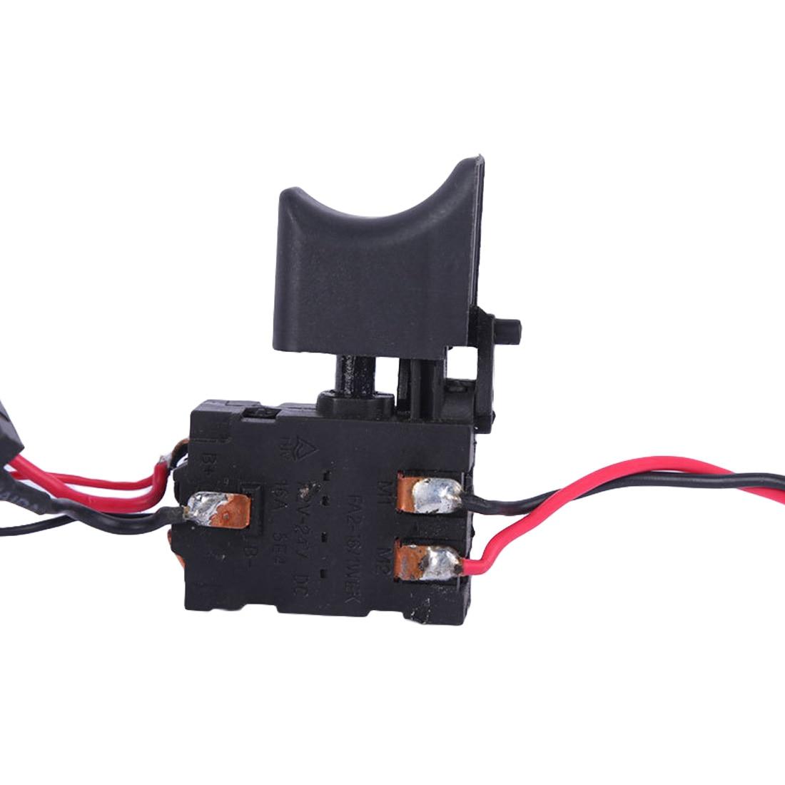 Interruptor De Taladro Inal/ámbrico 7.2 V Interruptor De Disparador De Taladro De Bater/ía De Litio De 24 V Interruptor De Disparador De Control De Velocidad De Taladro Inal/áMbrico Con Interruptor