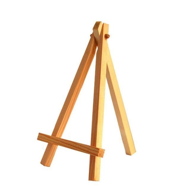 12 Pcs Mini Artist Wooden Easel Wood Wedding Table Card