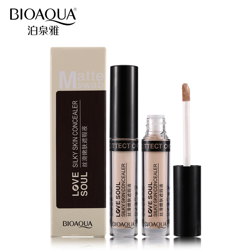BIOAQUA Brand Waterproof Concealer Liquid Makeup Lasting Full Cover Flawless Base Primer Foundation Stick Make Up Cosmetics Set