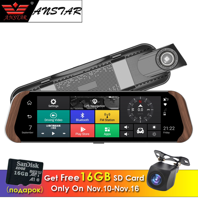 ANSTAR 2018 4G Dash Cam Android 10