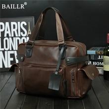 цены Fashion Vintage Men PU Leather Briefcase Laptop Bag mens Business Male Leather Bags Men's Briefcase Male bag men for documents