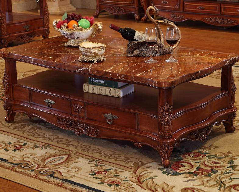 Asian Antique Tea Living Room Furniture Coffee Center Table