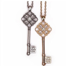 New fashion necklaces wholesale clothing necklace key pendant long with various women sweater chain Fashion