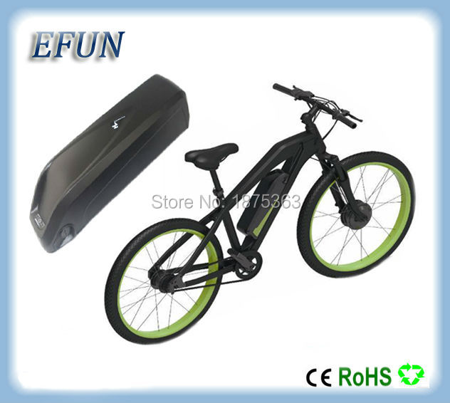 Free shipping customs duty Hailong battery 48v 10Ah lithium-ion battery pack 48 volts battery for electric bike with charger free customs taxes high quality skyy 48 volt li ion battery pack with charger and bms for 48v 15ah lithium battery pack