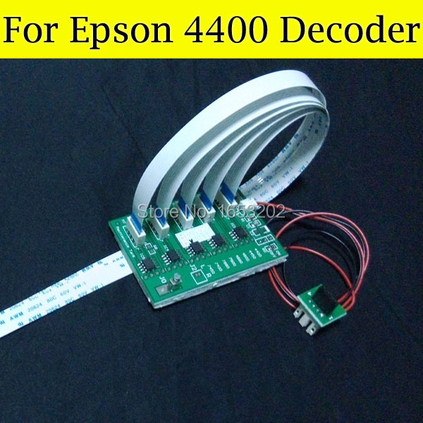 все цены на 2 Pieces/Set 4400 Chip Decoder Card For Epson 4400 Ink Cartridge онлайн