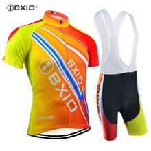 2017 BXIO Brand Cycling Sets Maillot Ciclismo Hombre Summer Pro Team Bicycle Clothing Sport Jersey Bike Clothes BX-0209O100