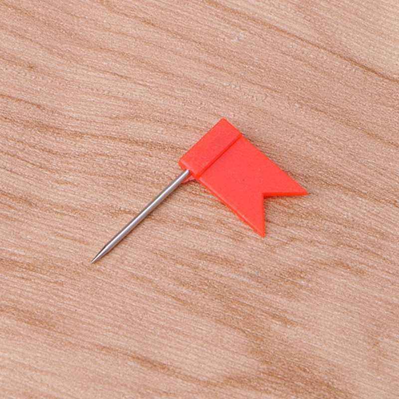 1 Set/30 Pcs Hoge Kwaliteit Vlag Marker Vorm Kaart Pinnen Kurk Prikbord Push Pin Diverse Office Home
